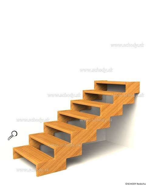 konstrukce schodiste schody III