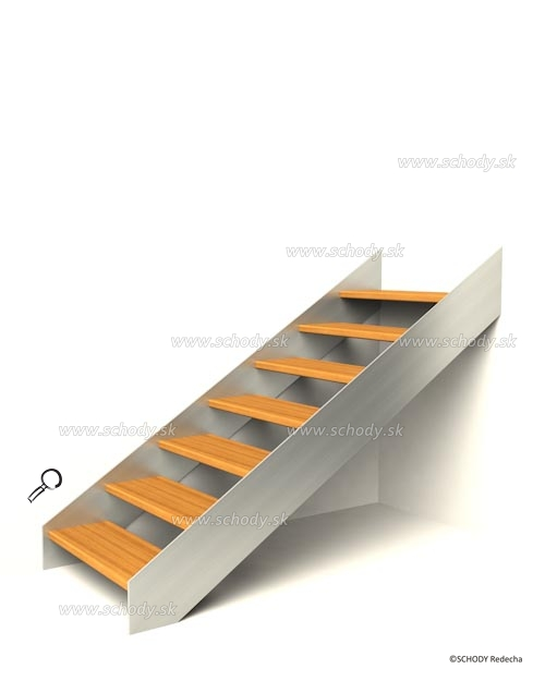 konstrukce schodiste schody IV