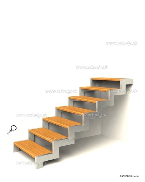 konstrukce schodiste schody VI