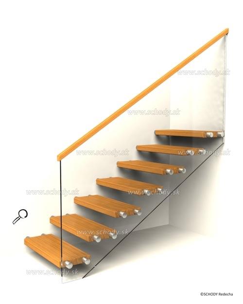 konstrukce schodiste schody X