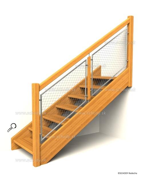 drevene schody IA8