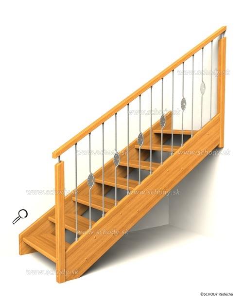 drevene schody IB2