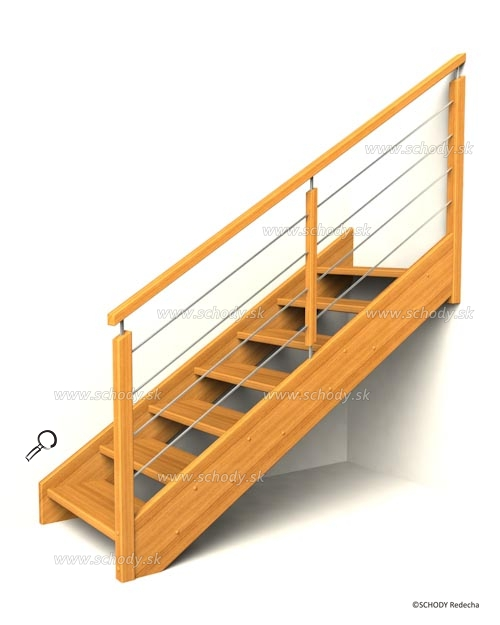 drevene schody IB4