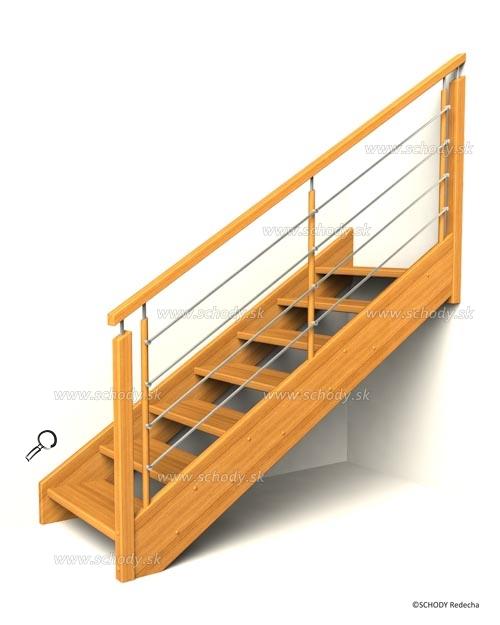 drevene schody IB5
