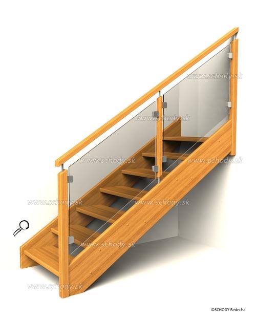 drevene schody IB6