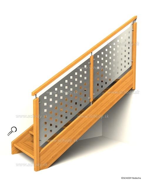 drevene schody IB7