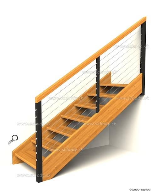 drevene schody IN