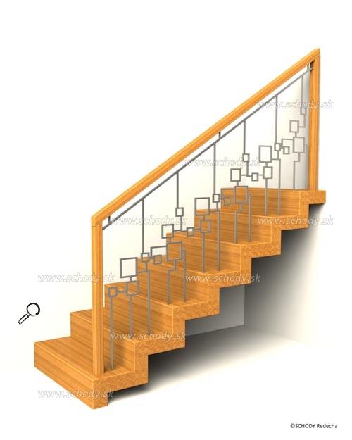 zubate schody XIIL