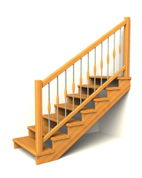 drevene schodiste schody IIA2