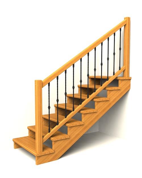 drevene schodiste schody IIA3