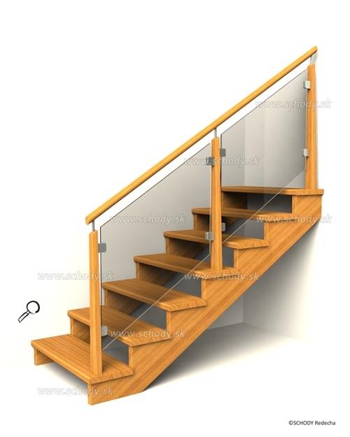 drevene schodiste schody IIC6