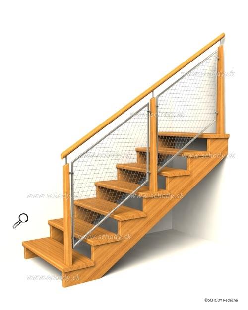 drevene schodiste schody IIC8