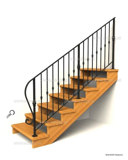 drevene schodiste schody IIK