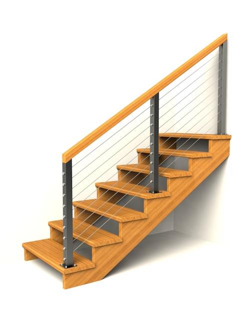 drevene schodiste schody IIN