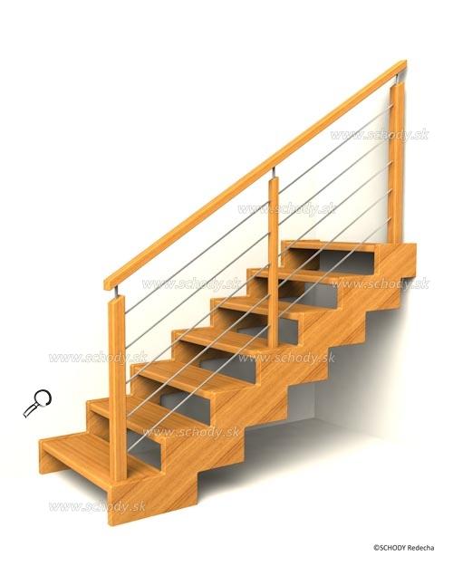 zubate schodisko schody IIIB4