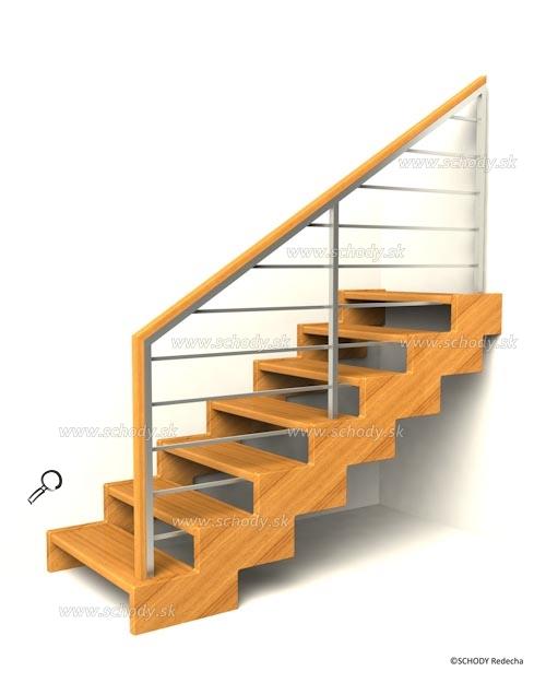 zubate schodisko schody IIIH5