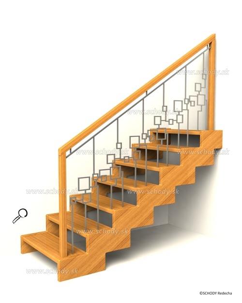zubate schodisko schody IIIL