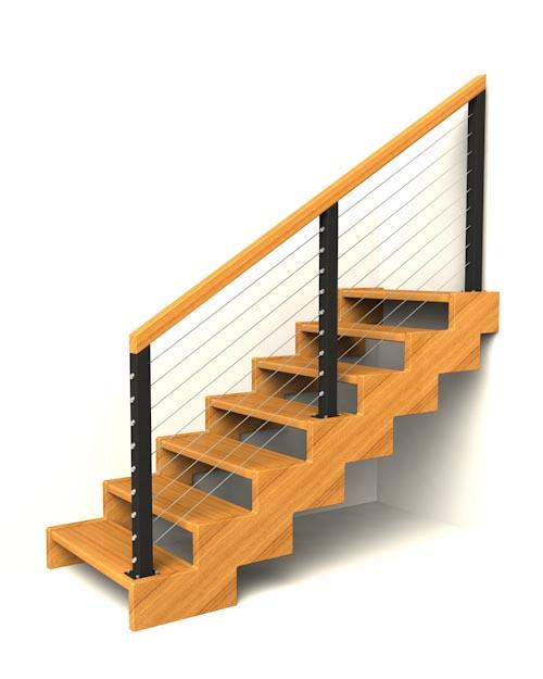 zubate schodisko schody IIIN