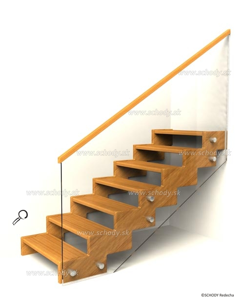 zubate schodisko schody IIIS