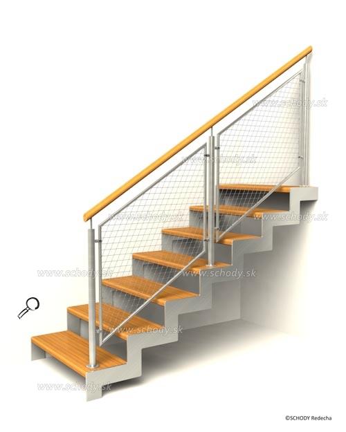 nerezove schody VD8