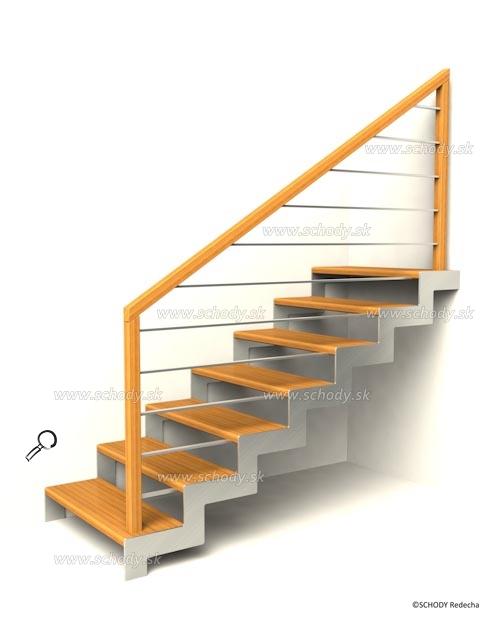 nerezove schody VH4