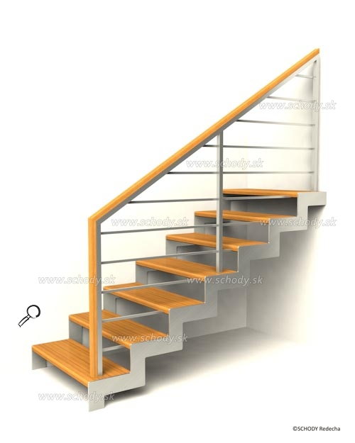 nerezove schody VH5