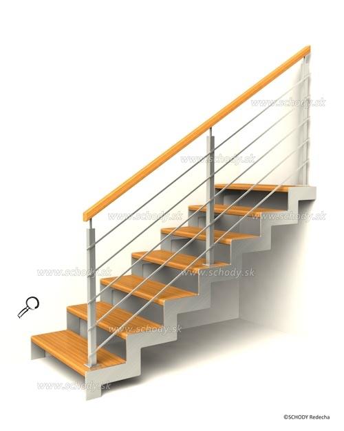 nerezove schody VJ1