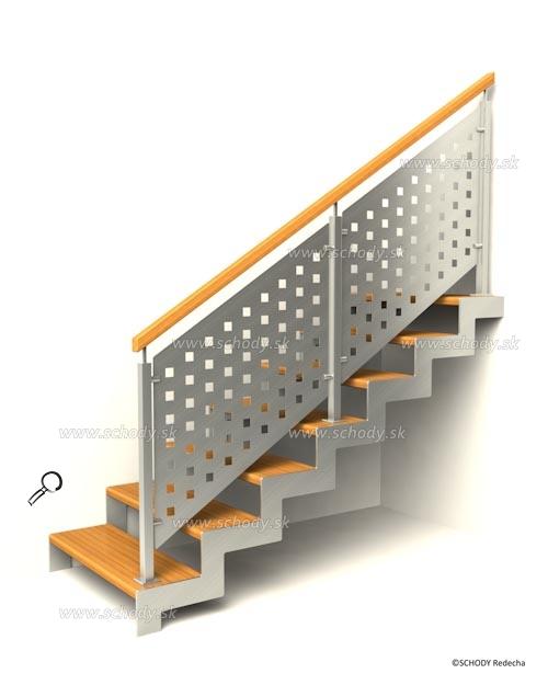 nerezove schody VJ7