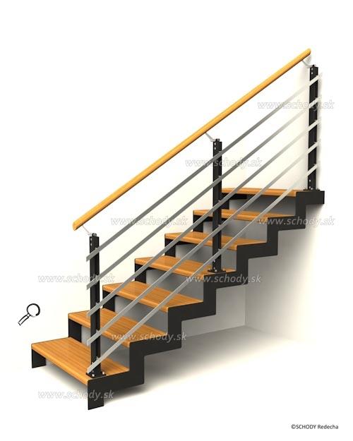 nerezove schody VM