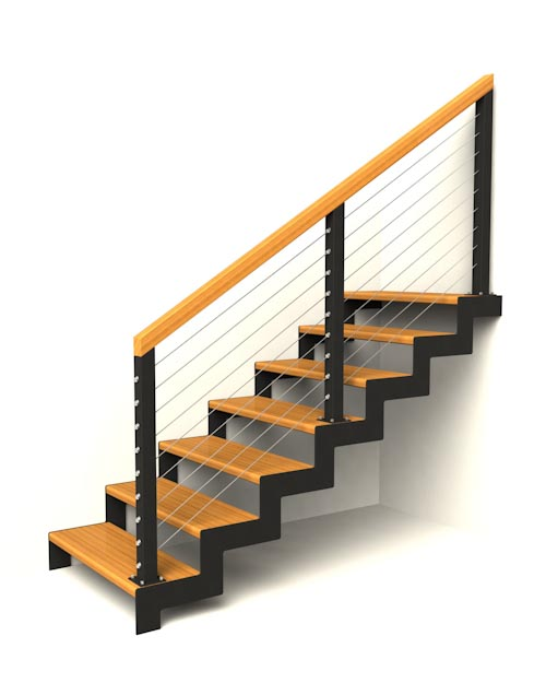 nerezove schody VN