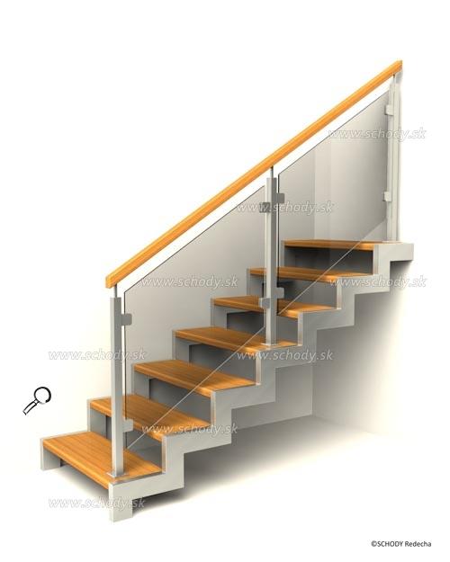 kovove schody VIJ6