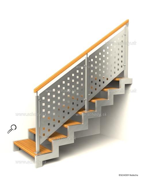 kovove schody VIJ7