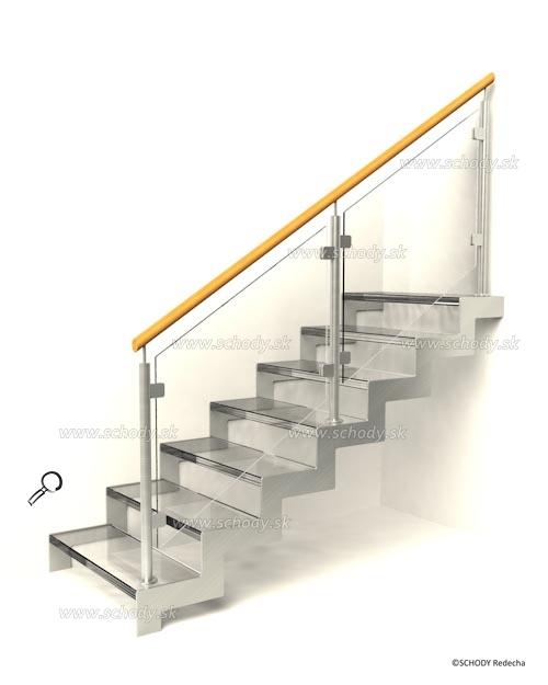 sklo schody VIID6