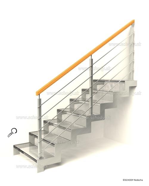 sklo schody VIIJ1