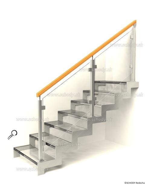 sklo schody VIIJ6