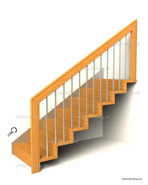 zavesne schody IX23p